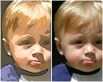 Learn how to convert your family photos into digital illustrations at PicMonkey.com