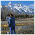 Learn tips and techniques of painting outdoors - Downoad the free Plein Air guidebook from ArtistDaily.com